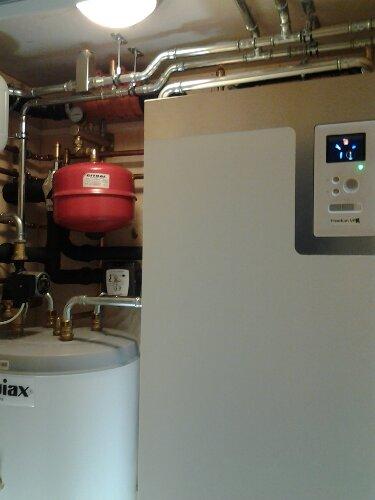 Varmepumpe vann til vann montert i Oslo